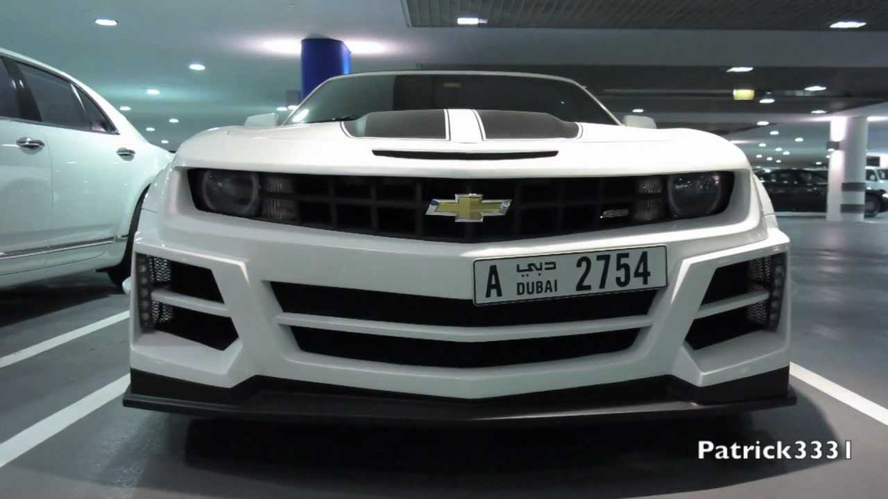 Chrome Amp Carbon Chevrolet Camaro Ss Wide Body Kit Youtube