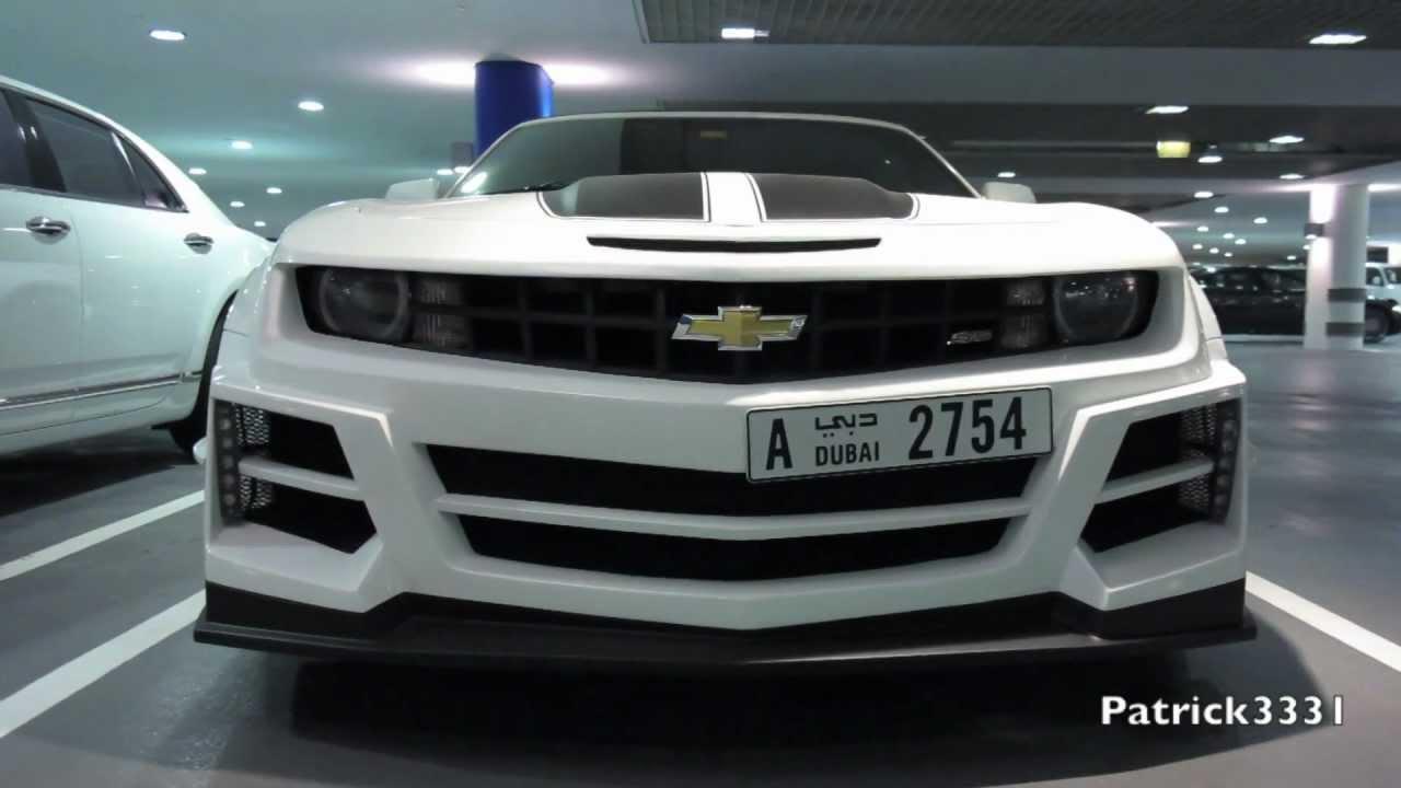 Chevrolet Camaro Bodykit >> Chrome&Carbon Chevrolet Camaro SS - wide body-kit - YouTube