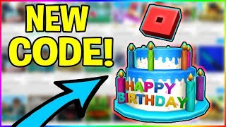 *PROMO CODE* HOW TO GET THE FREE ROBLOX 12 BIRTHDAY CAKE HAT!