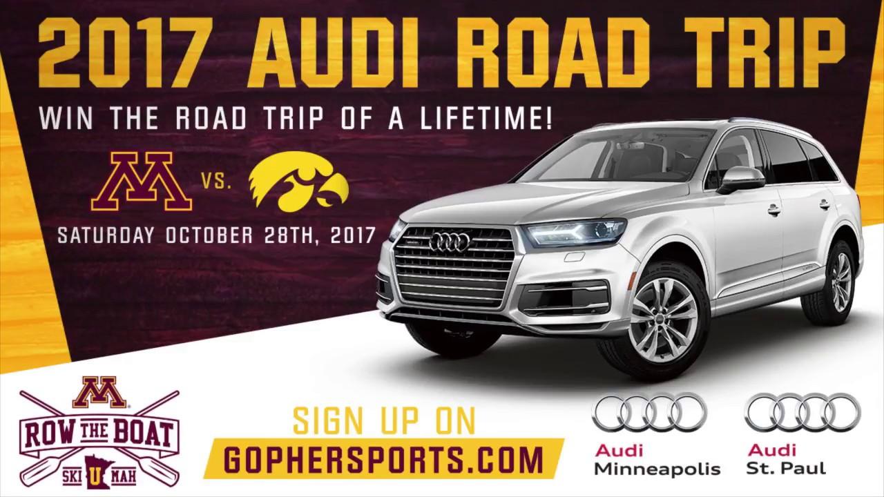 Audi Road Trip See Gopher Football Play At Iowa YouTube - Audi st paul