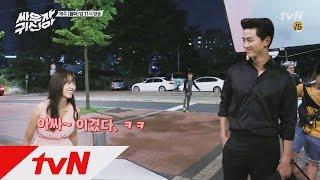 tvnghost [단독공개] 타짜(?) 옥택연&김소현의 가위 바위 보! 160808 EP.9