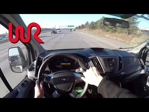 Extreme Ford Transit Racing Van - WR TV POV Review