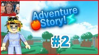 Roblox Adventure Story #2 Blumen und Druiden Frau Samantha und Fans