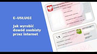 Jak wyrobić dowód osobisty przez internet [e-usługi]