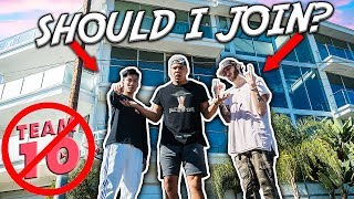 MOVING IN WITH RICEGUM AND FAZE BANKS (NEW TEAM 10)