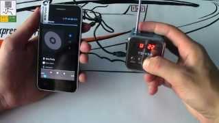 Портативный мини-динамик с FM-радио td v26