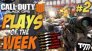 Black Ops 4 - TOP 10 PLAYS OF THE WEEK #2 (COD Top Plays)