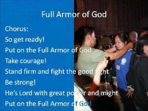 Full Armor Of God With Lyrics