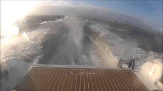 XO 270RS - rough weather sea trial