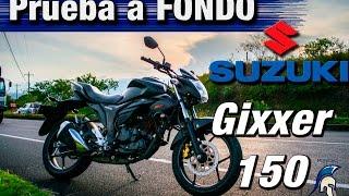Prueba a fondo SUZUKI GIXXER 150 // Review en ESPAÑOL