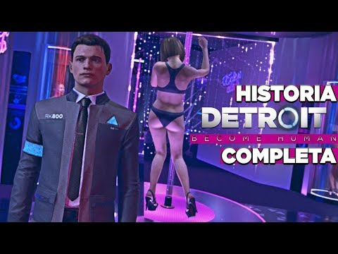DETROIT: BECOME HUMAN (TODA LA HISTORIA EN 1 VÍDEO DE 12H) - MEJOR FINAL POSIBLE