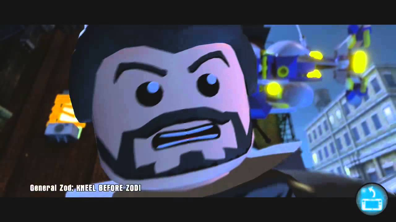 lego dimensions wii u part 28 ghostbusters general zod. Black Bedroom Furniture Sets. Home Design Ideas