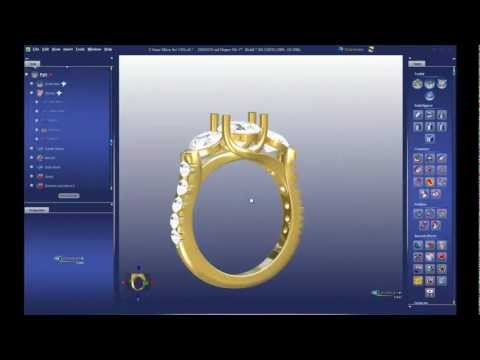 Most Powerful Tools - 3DESIGN CAD 7 Jewelry Design Software