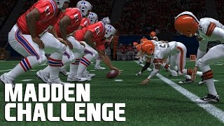 Giant Players VS Tiny Players - Madden NFL Challenge