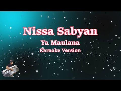 Karaoke Sabyan- Ya Maulana (Karaoke Tanpa Vocal)
