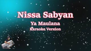 Ya Maulana || Karaoke Tanpa Vocal |Nisa Sabyan