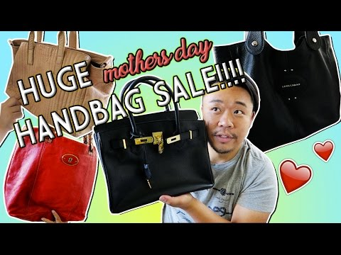 HUGE MOTHER'S DAY BAG SALE!