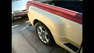 Mazatlan Sinaloa Mexico Autos Ford Ranger pick up camioneta deportiva sport