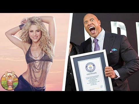 20 CELEBRITES QUI FIGURENT DANS LE GUINNESS DES RECORDS | Lama Fach