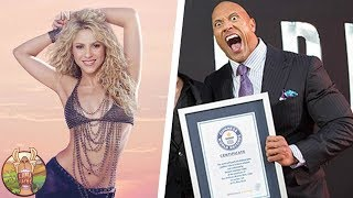 20 CELEBRITES QUI FIGURENT DANS LE GUINNESS DES RECORDS | Lama Faché