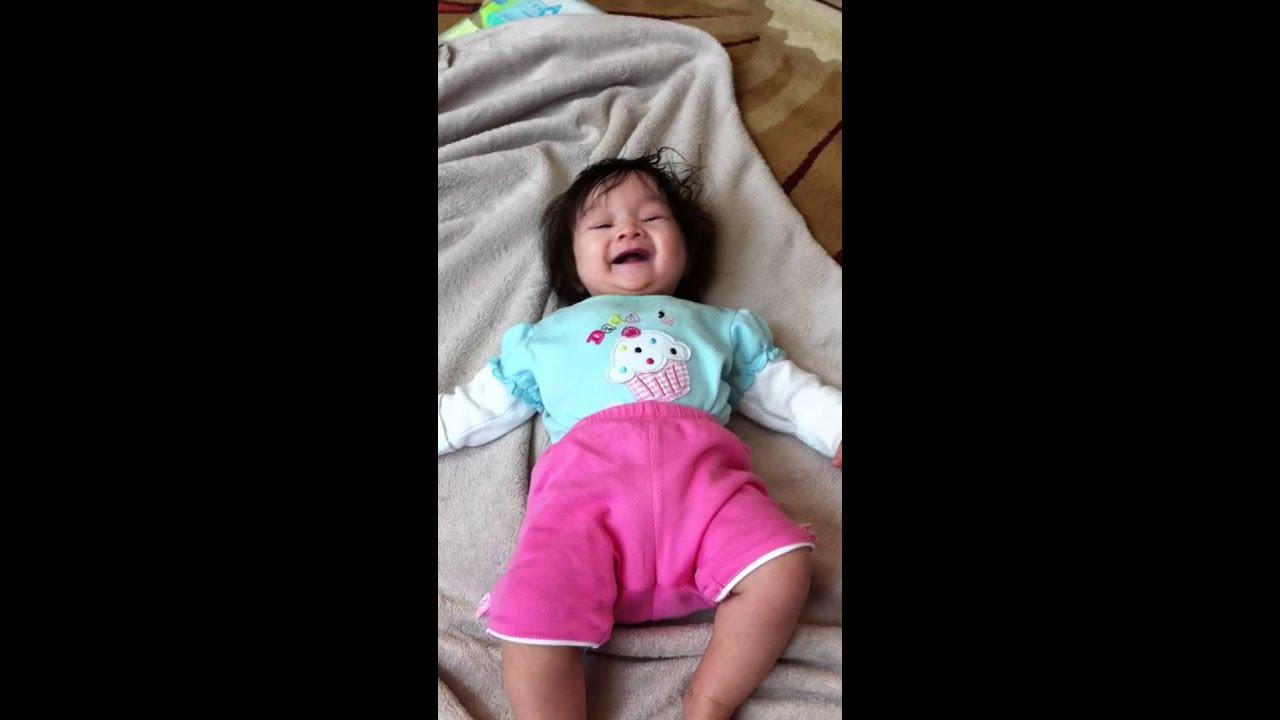 Baby Laughing Dog Barking