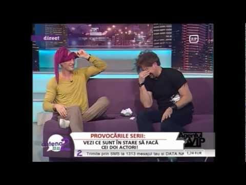 Gabriel Dutu si Vladimir Draghia -Agentul Vip ( Antena 2)