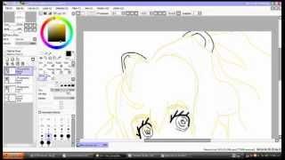 Speed draw!..again.. SeeU from k-vocaloid! Part 1!