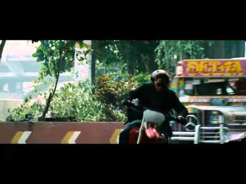 THE BOURNE LEGACY (2012) - MANILA Motorcycle Chase Scene - JEREMY RENNER