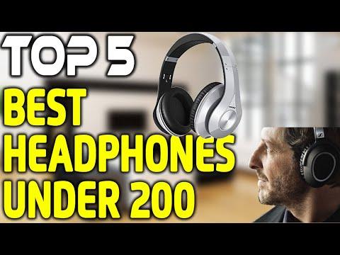 5 Best Headphones Under 200 in 2018 - Which Headphones are Best?