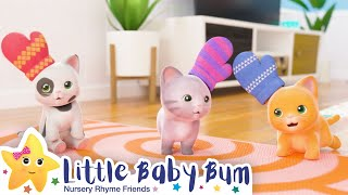 Three Little Kittens + More Nursery Rhymes & Kids Songs - Little Baby Bum