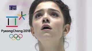 Evgenia Medvedeva Olympics Pyeong Chang 2018 FS leaked