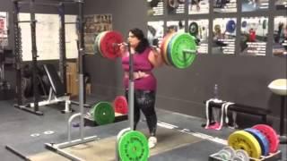 Tamara Back Squat 160kg x 8