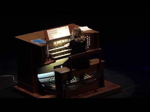 Organ Recital by Dr. Karen Black at the Sondheim Center for the Performing Arts Part 1