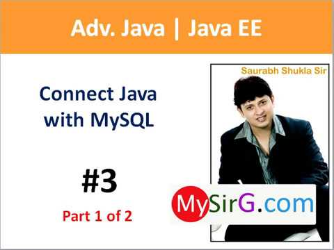 #3 JDBC Connect Java with MySQL part 1 of 2
