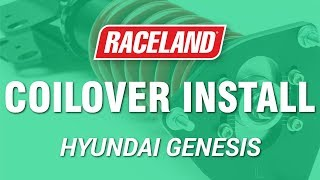 How To Install Raceland Hyndai Genesis Coupe Coilovers