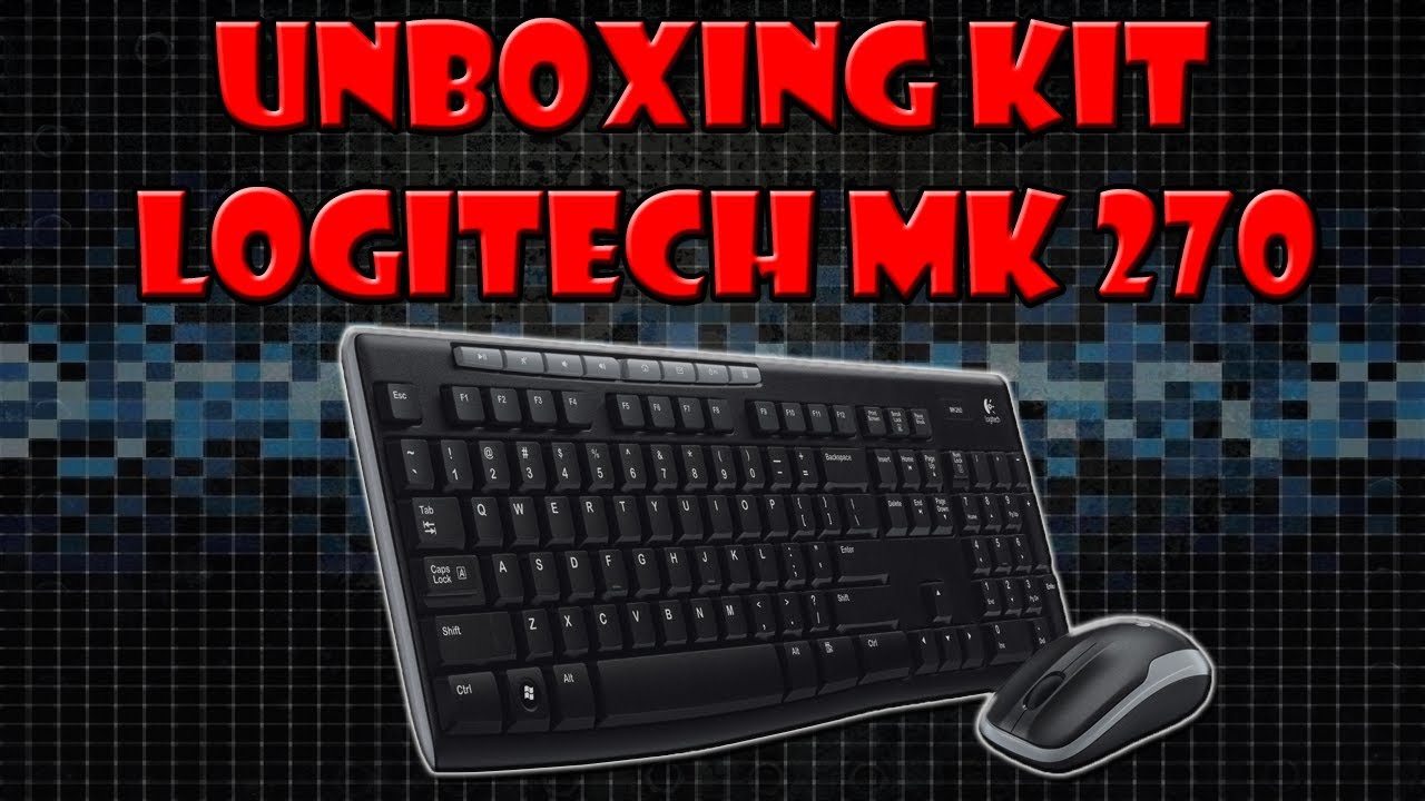 Logitech MK270 Support and Manuals