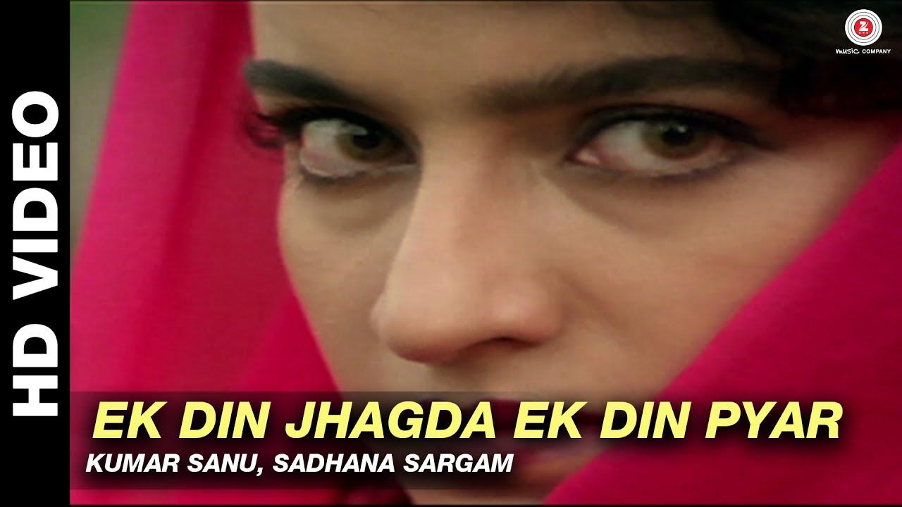 Ek Din Jhagda Ek Din Pyar – Platform | Kumar Sanu, Sadhana Sargam | Ajay Devgan & Tisca Chopra