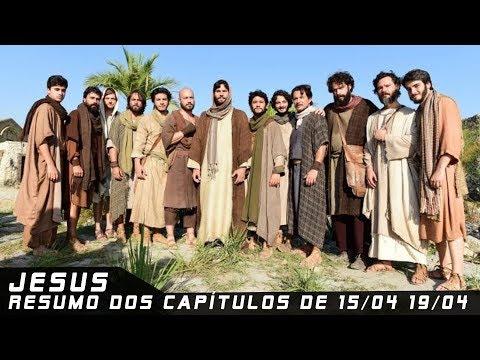 Jesus - Resumo dos Capítulos de 15 a 19 de abril de 2019