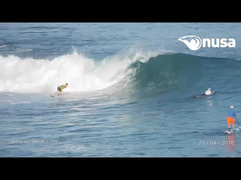 20 - 04 - 2018 /✰✰✰ / NUSA's Daily Surf Video Report from the Bukit, Bali.