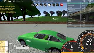 Stealing a VOLKSWAGON GTI on Steroids??? Ultimate Driving: Monroe on Roblox
