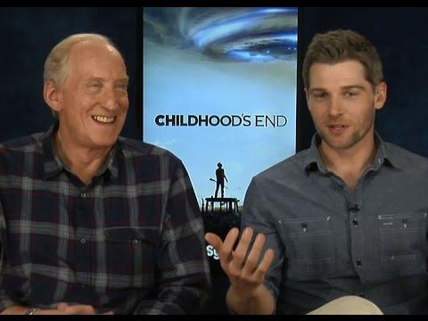 Game of Thrones' Tywin Lannister vs. Childhood's End Karellen? Charles Dance , Mike Vogel Interview
