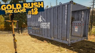 GOLD RUSH: The Game #13: Goldrausch und erster Container!   GOLDGRÄBER SIMULATOR