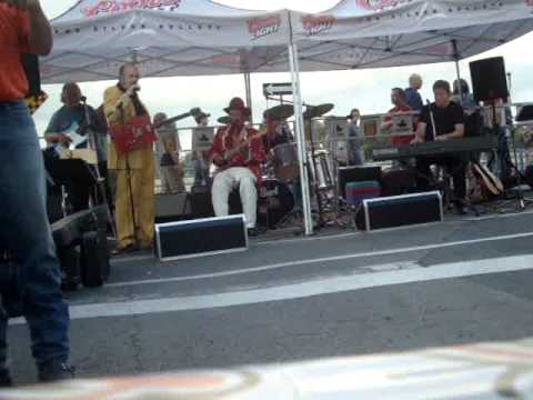 t-bone / karl slick /steve burnside / jammin at canal days/ shake rattle roll