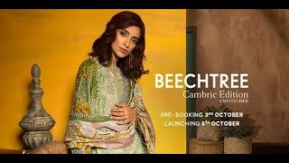 Beech Tree Unstitched Winter Collection 2018 Cambric Catalog