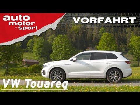 Volkswagen Touareg: Das rollende Smartphone? – Vorfahrt (Review) | auto motor und sport
