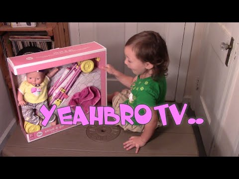 Circo 14in Doll Unboxing with Stroller YeahBroTV - YouTube