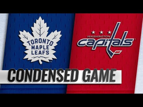 10/13/18 Condensed Game: Maple Leafs @ Capitals
