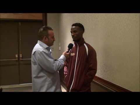 Kenneth Sims talks about his fight with Emmanuel Robles