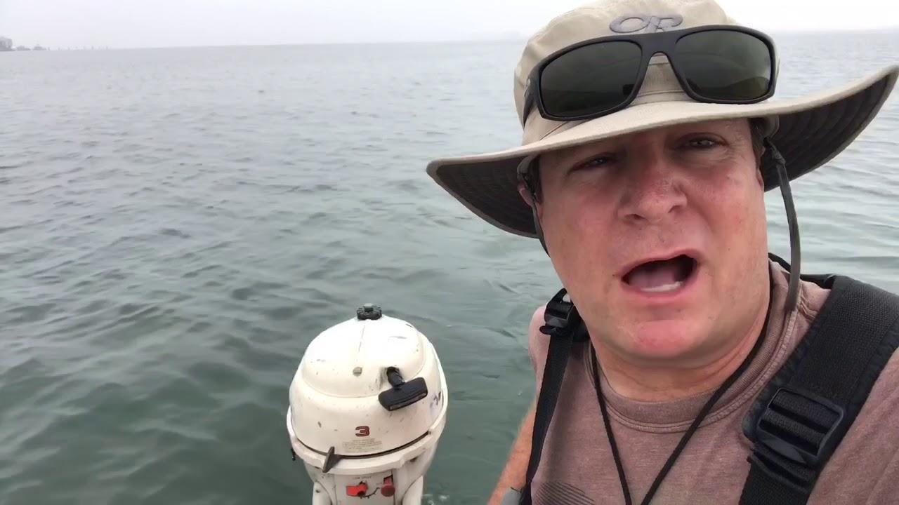 Johnson 3hp on a Grumman Canoe