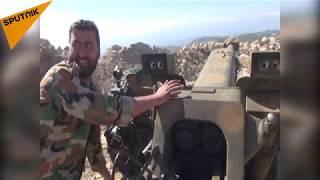بالفيديو... المدفعية الثقيلة في ريف اللاذقية تدك مواقع إطلاق الصواريخ والمسيرات
